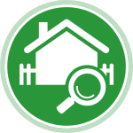 CRES Circle House Icon