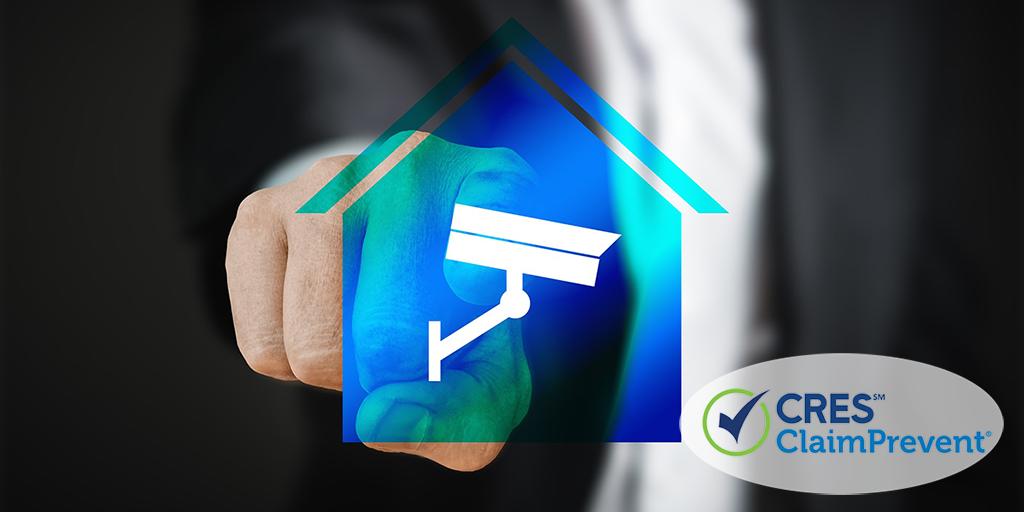 smart home surveillance icon