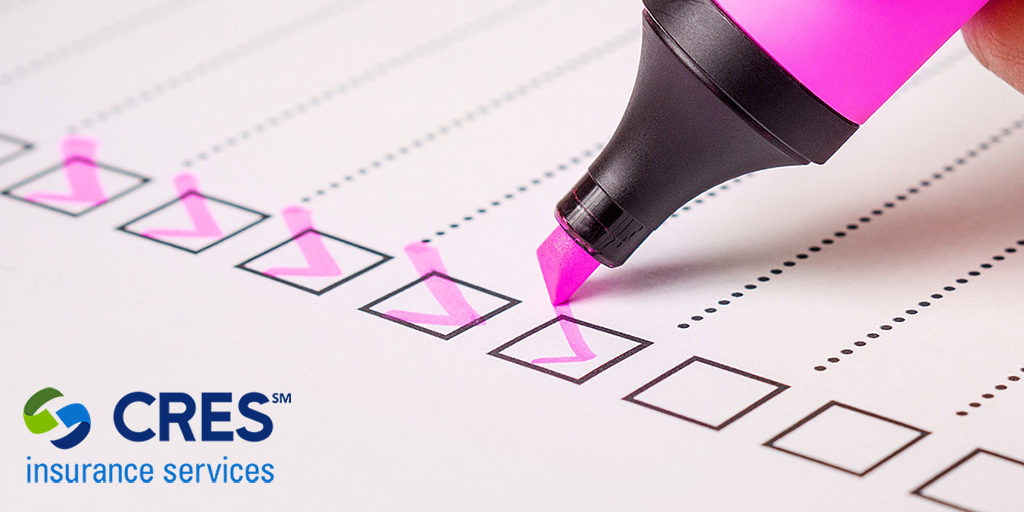 checklist with pink highlighted checkmarks