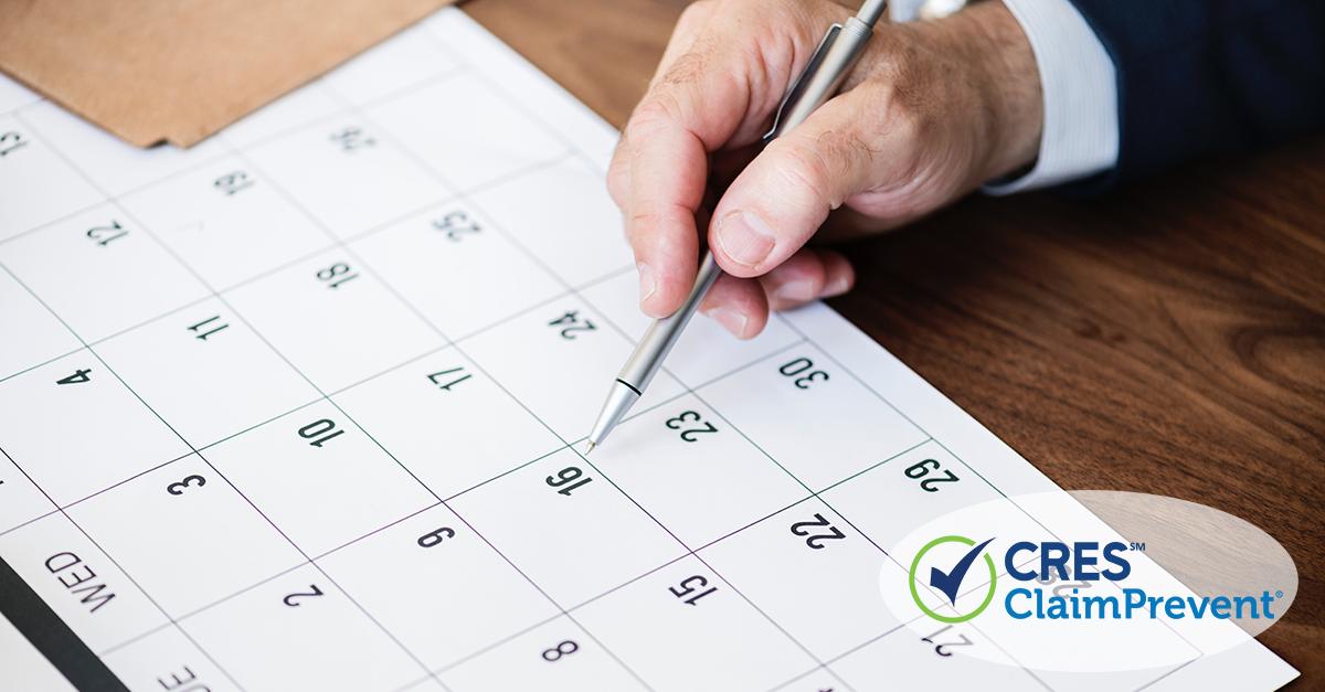 calendar man realtor safety month