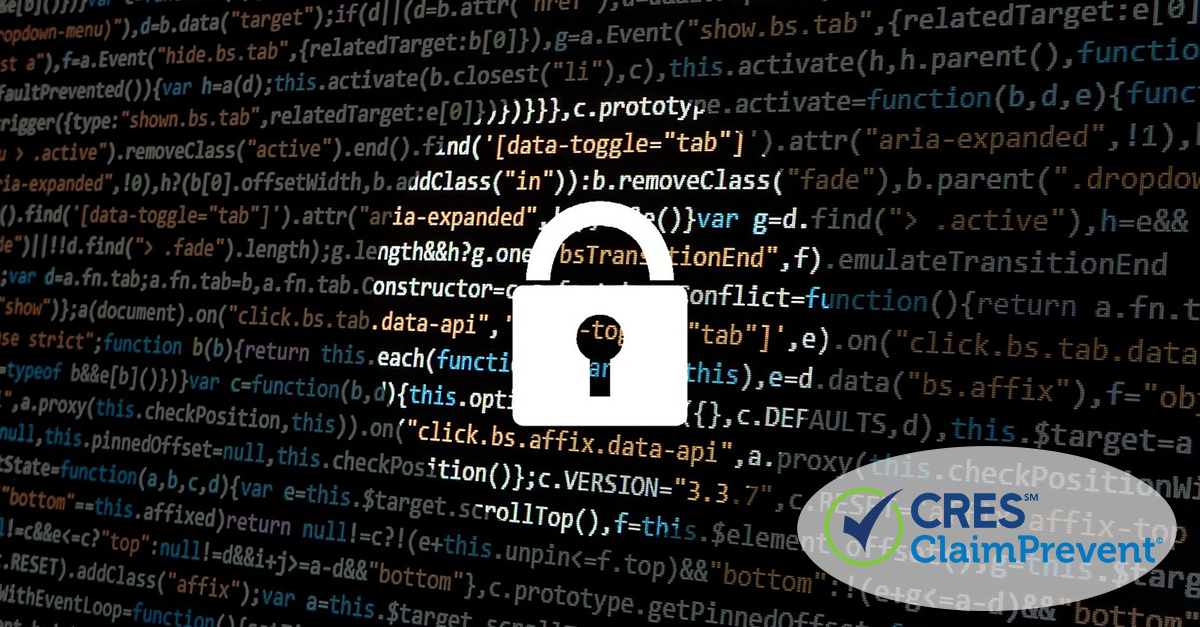 cyber data with lock
