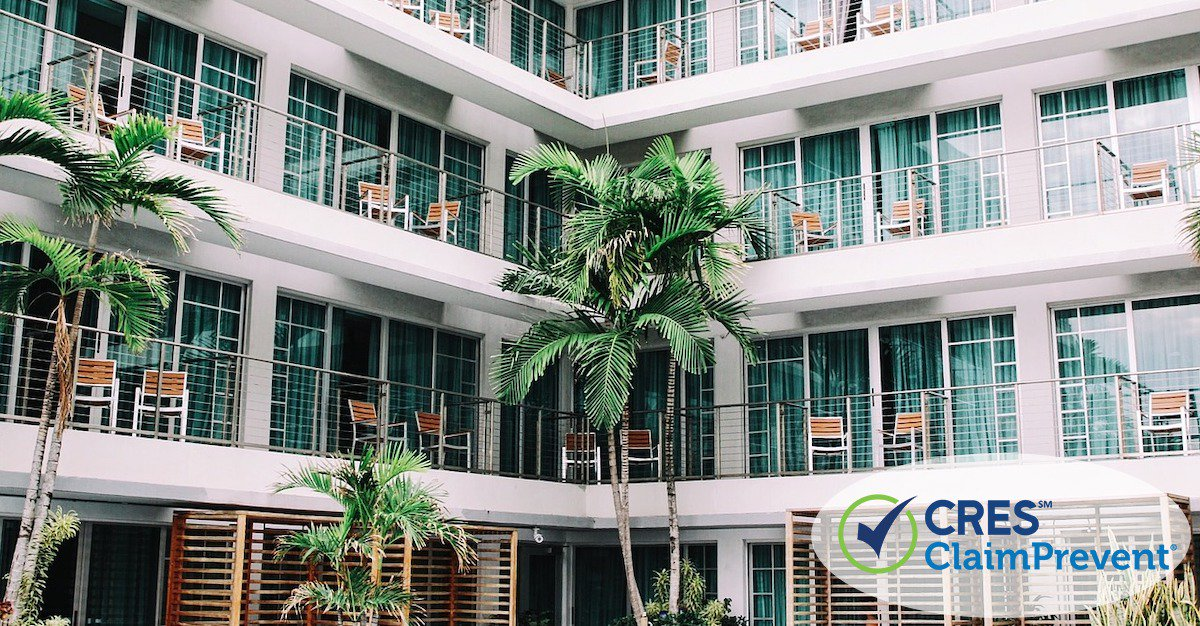 group of condo rentals surrounded by palm trees
